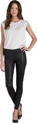 Joie Alvarine Leather Leggings