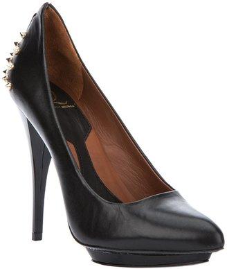 McQ Stud embellished heeled pump