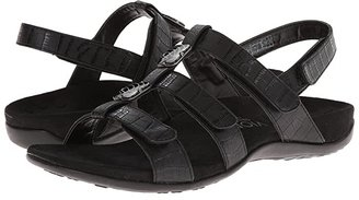 Vionic Amber (Black Croco) Women's Sandals