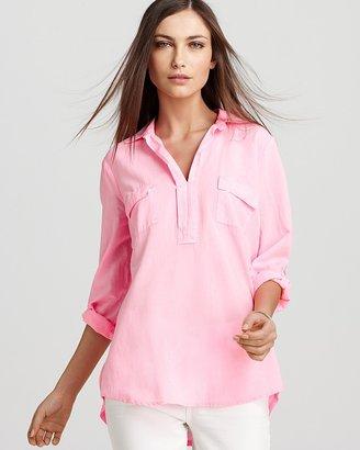 Splendid Shirt - Neon Double Pocket Henley