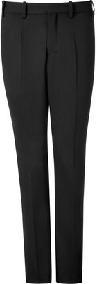 Neil Barrett Black Wool Tuxedo Pants