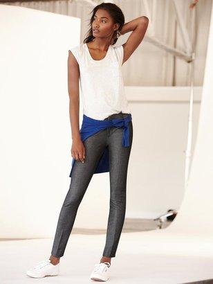 Banana Republic Sloan-Fit Textured Slim Ankle Pant