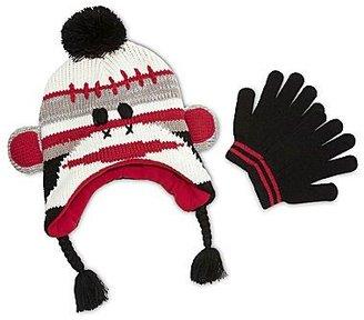 JCPenney Asstd National Brand Critter Hat & Gloves Set - Boys