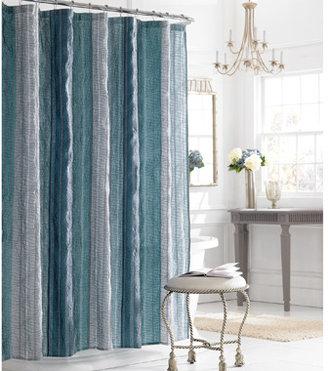 "Manor Hill Manor Hill™ Sierra Sapphire 72"" x 72"" Fabric Shower Curtain"