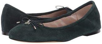 Sam Edelman Felicia (Purple Plum Suede Leather) Women's Flat Shoes