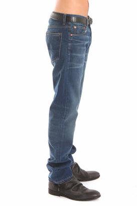 Simon Spurr Pipe Leg 2 Year Wash Denim