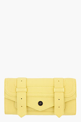 Proenza Schouler Banana Yellow Leather PS1 Continental Wallet