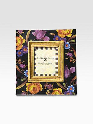 Mackenzie Childs MacKenzie-Childs 2.5 X 3 Flower Market Mini Frame/Black