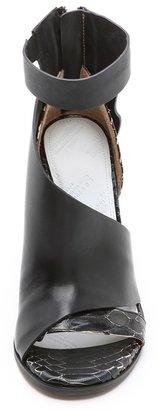 Maison Martin Margiela Layered Leather Sandals