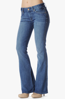 """7 For All Mankind """"A"""" Pocket Flare In Fayette Springs (Short Inseam)"""