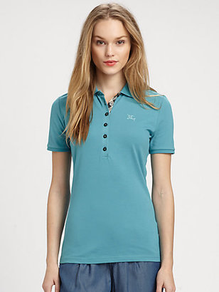 Burberry Jersey Polo Shirt