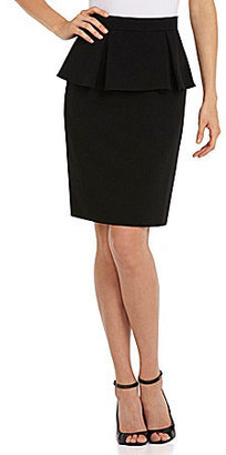 Tahari by Arthur S. Levine Tahari by ASL Separates Peplum Suit Skirt