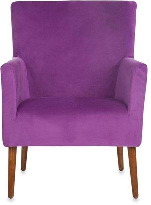 Safavieh Everett Arm Chair in Purple
