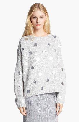 Elizabeth and James Foil Dot Sweater