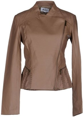 ALICE BY TEMPERLEY Leather outerwear $727 thestylecure.com