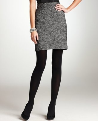 Davis Knit Tweed Skirt