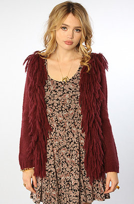 Ladakh The Feathered Mohair Cardigan Sweater