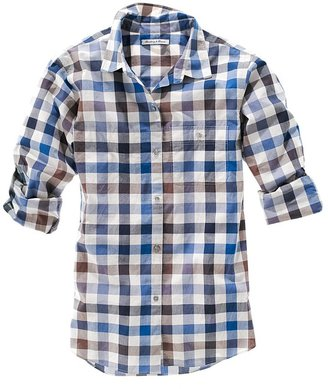 Madewell Spring picnic shirt