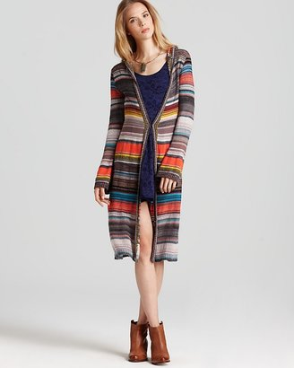 Free People Cardigan - Serape Hooded