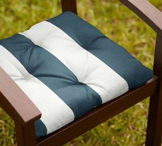 Pottery Barn Tufted Sunbrella®; Outdoor Dining Chair Cushion
