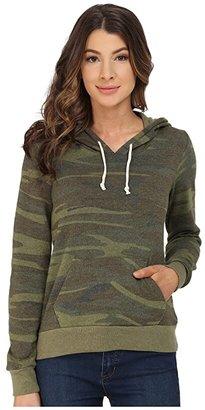 Alternative Athletics Printed Hoodie (Camo) Women's Sweatshirt