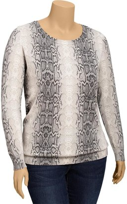 Old Navy Women's Plus Snakeskin Print Pullovers
