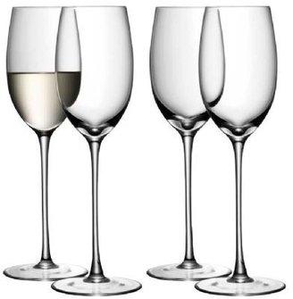 LSA International White Wine Glasses set of 4