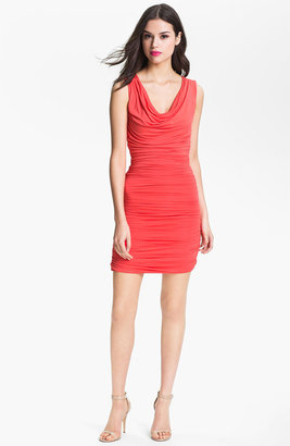 Nordstrom FELICITY & COCO Ruched Jersey Minidress Exclusive)
