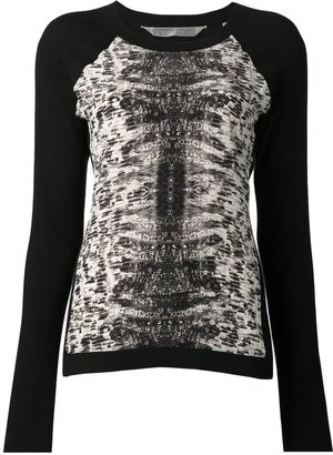 Reed Krakoff front panel sweater