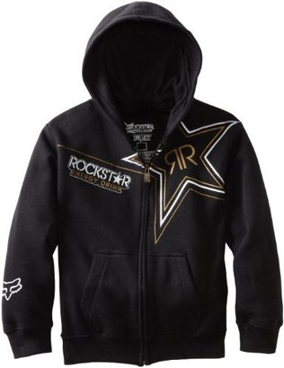 Fox Head - Kids Boys 8-20 Rockstar Golden Zip Front Hoodie