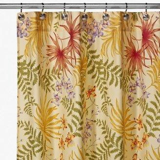 Bed Bath & Beyond Sea Flora 72-Inch x 72-Inch Shower Curtan