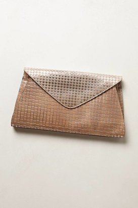 Anthropologie Tooled Flora Clutch