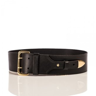 Linea Pelle Maya Waist Belt with Metal Tip