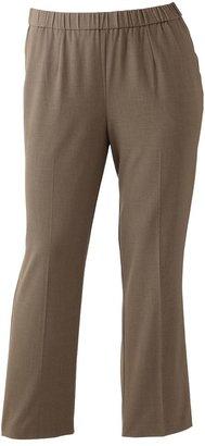 Sag Harbor Plus Size Pull-On Dress Pants