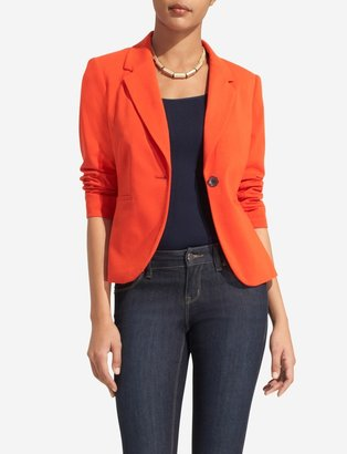 The Limited Ponte Knit One-Button Jacket
