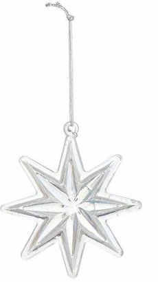 clear Unspecified Glass Star Decoration