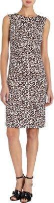 Diane von Furstenberg Jolene Leopard-Print Dress