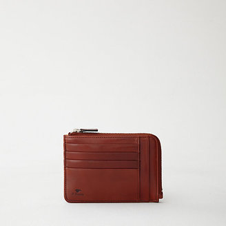 Il Bussetto flat zip wallet