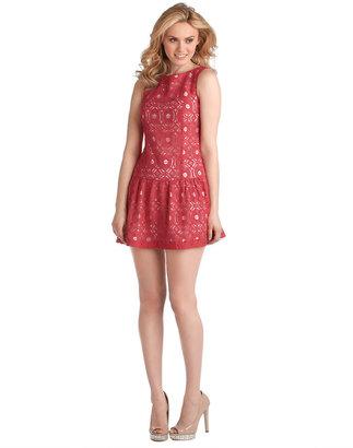 Kensie Sleeveless Lace Dress