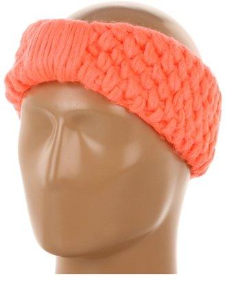 Echo Chunky Headband (Neon Coral) - Accessories