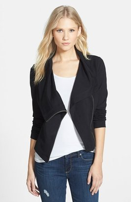 Women's Two By Vince Camuto Ponte Moto Jacket $139 thestylecure.com