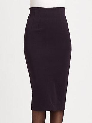 Burberry High-Waist Jersey Skirt