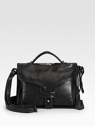 Opening Ceremony NY Leather Large Top-Handle Bag