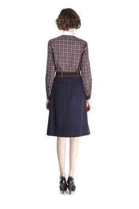 Marc by Marc Jacobs Spongey Wool Twill Skirt