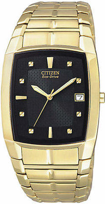 Citizen Men's Gold Stainless Steel Watch
