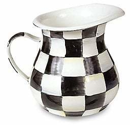 Mackenzie Childs MacKenzie-Childs MacKenzie-Childs Courtly Check Creamer