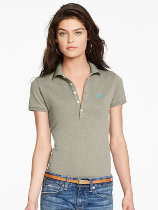Personalization Skinny Stretch Polo Shirt $89.50 thestylecure.com