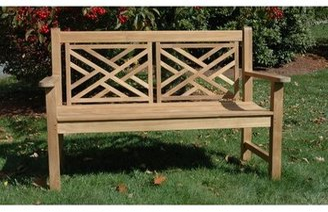 Regal Teak Teak Chippendale Garden Bench