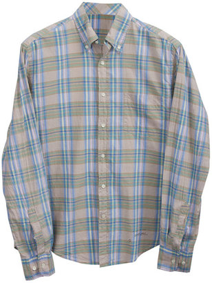 Gant India Madras Plaid Shirt in Light Blue Plaid -