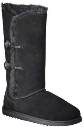 Boots Women's Xhilaration® Kallima Genuine Suede Shearling Style Assorted Colors